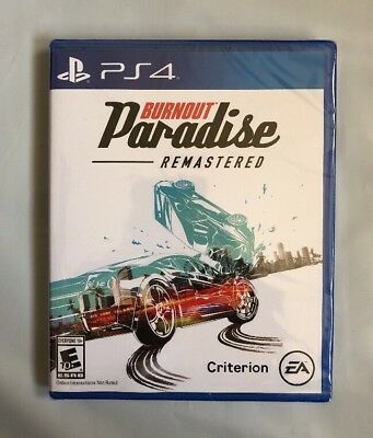 PS4 BURNOUT PARADISE Remastered (English Ver) for Sony Playstation 4