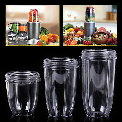 HOT Nutri Bullet Replacement Part Juicer Cup Mug Clear New Brand 18/24/32 OZ