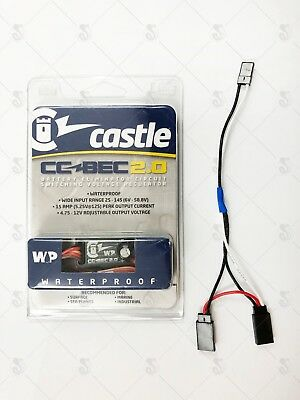 Castle Creations BEC 2.0 WP, 15A Waterproof Voltage Regulator w/ FREE RX Bypass