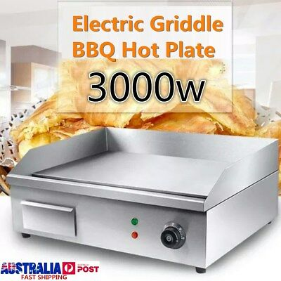 Thermomate Electric Griddle Grill BBQ Hot Plate Commercial Stainless Steel NEW