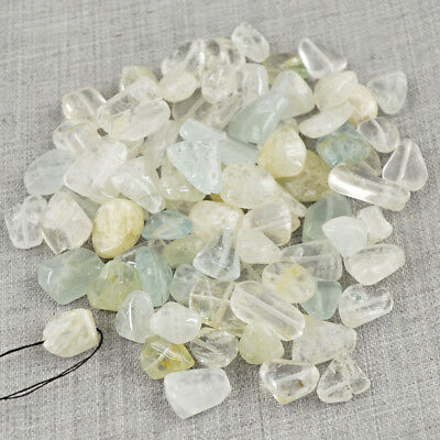Best Quality 250.00 Carats Earth Mined Untreated Aquamarine Drilled Beads Lot
