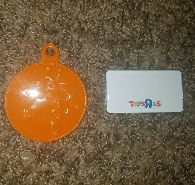 Toys R US Official Classic EMPLOYEE NAME TAG/ GEOFFREY GIRAFFE BALLOON WEIGHT!