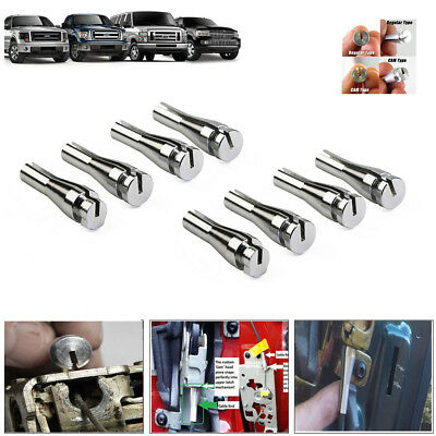 8 Ends Door Latch Lock Handle Cable Repair Kit for Ford E-series Van Truck F150