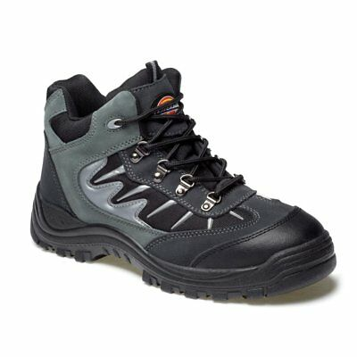 Mens Dickies Storm Safety Work Boots Size Steel Toe Cap Grey Fa23385A