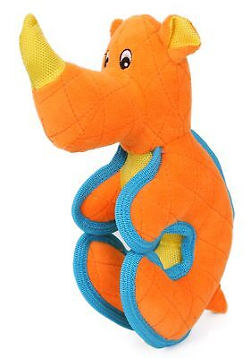 Pet Life Cartoon Funimal Plush Animal Squeak Chew Tug Dog Toy