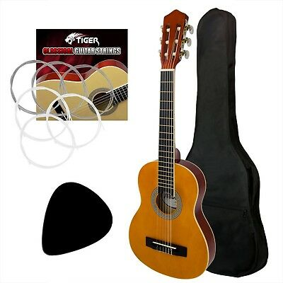 4/4 Size Left Handed Classical Guitar Pack Nylon Strings