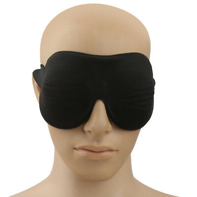 Soft Large Cotton Eye Mask Sleep Shade Cover Fatigue Relax Travel Blindfold