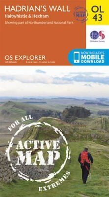 Hadrian's Wall, Haltwhistle & Hexham by Ordnance Survey 9780319469613
