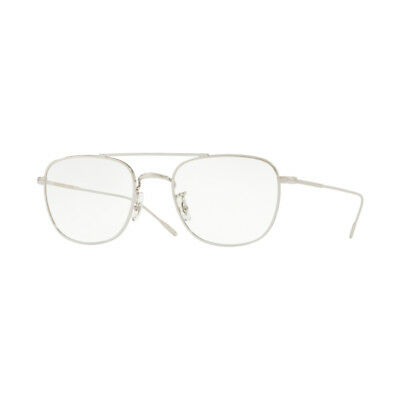 Occhiali Eyewear Oliver Peoples 1238 KRESS 5036 Silver 49 + Hoya Lens Clear NEW