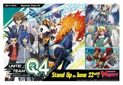 Cardfight!! Vanguard V-BT01 Royal Paladin common set (4 of each card)