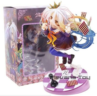 No Game No Life / Shiro /1/7 Scale Pre-Painted / Action Figure PVC 18cm in box