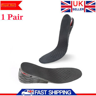 9cm Four Layers Height Increase Insole Heel Adjustable Lift Altitude Shoe Pad UK