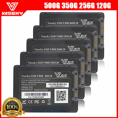 "Vaseky 500G 350G 256G 120G 2.5"" SATA III Solid State Drive SSD lot"