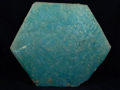 Ancient Huge Size Glazed Tile Islamic 1000 AD  #PT608