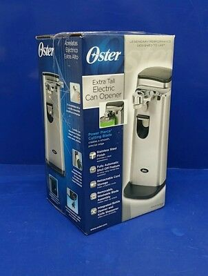 Oster Extra Tall FPSTCN1300 Retractable Cord Stainless Steel Can Opener