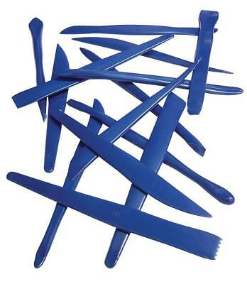 Plastic Clay Modelling Tools - Set of 14 - MAJOR BRUSHES