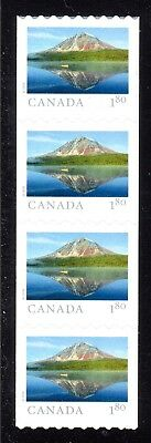 2018 Canada SC# From Far and Wide- strip of 4 from coil - C680 M-NH