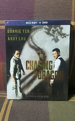 Chasing the Dragon: Action Movie, 2018, 2-Disc Set, Blu-ray + DVD (W/ Slipcover)