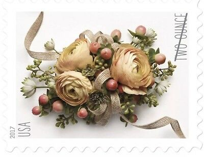 Celebration Corsage USPS Two-Ounce Forever Stamps Sheet of 20 - New Stamp Iss...