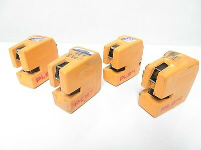 LOT OF 4 Pacific Laser Systems PLS 180 Laser Interior Exterior Red Crossline