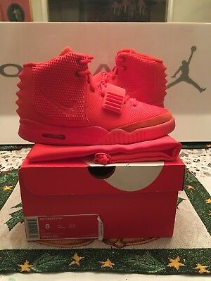 8e951d7cd4b ... top quality nike air yeezy 2 red october signed by kim kardashian 9a613  1c4c0