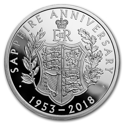 Silver Britannia Proof £10 Coin GEM Proof SKU54667 2018 Great Britain 5 oz