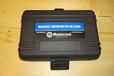 Mastercool Infrared Thermometer With Laser 52224-Sp Excellent Pre Owned & Case