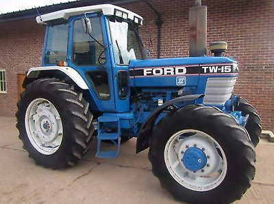 Ford TW 5 - TW 15 - TW 25 & TW 35 Tractors Workshop Manual