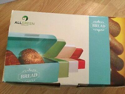 Turquoise Bread Box Delectable VINTAGE BREAD BOX For Kitchen Stainless Steel Metal Retro Turquoise