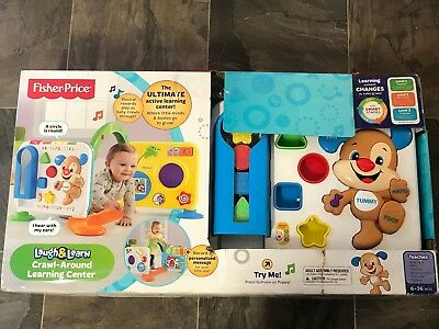 164bdbb50 FISHER-PRICE LAUGH LEARN Crawl Around Learning Center -  24.00 ...