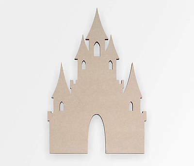 Wooden Fairytale Castle - Wooden Cut Out, Wall Art, Home Decor, Wall Hanging
