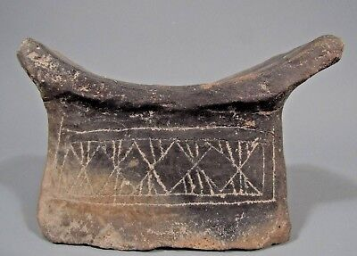 Egyptian North Africa Provincial Cross Hatch Incised Decoration 2500-1500 BC