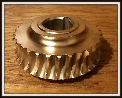"Vintage 4.5"" solid brass gear"