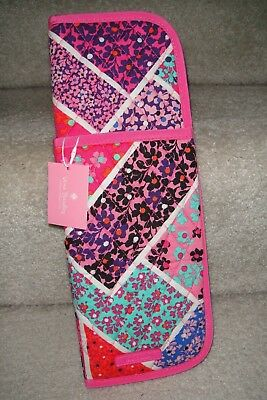 "Vera Bradley Iconic Curling & Flat Iron Cover "" Modern Medley"" Ret. Pattern.$24"