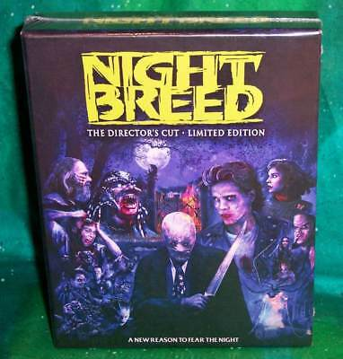New Rare Oop Scream Factory Nightbreed Director's Cut Limited Edition Blu Ray