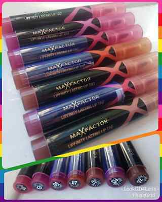 Max Factor Lipfinity Lasting Lip Tint - Assorted