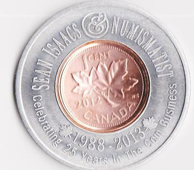 ALMONTE $2 TRADE TOKEN 2012 HOLDING LAST PENNY 1c in Lucky Penny holder.