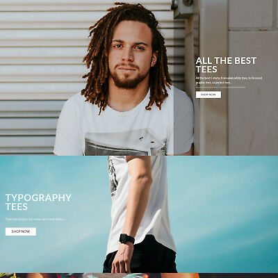 Own Your Own Tee Shirt Clothing Drop Shipping Business Work From Home Website