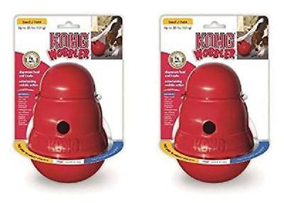 KONG WOBBLER Treat Dispensing Dog Puppy Toy LARGE 2 Pieces (PW1)