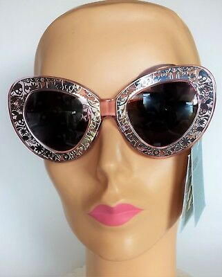 65bdef1a2358 Karen Walker Sunglasses NWT Crystal Pink   Silver  Intergalactic Cat-Eye ...