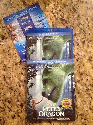 Petes Dragon (Blu-ray/DVD, 2-Disc Set)Authentic US RELEASE