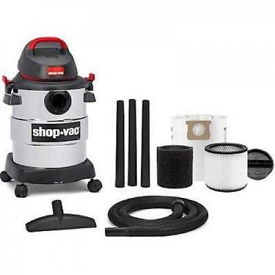 Shop-Vac 6 Gallon 4.5 Peak HP Stainless Steel Tank Wet Dry Vacuum NEW