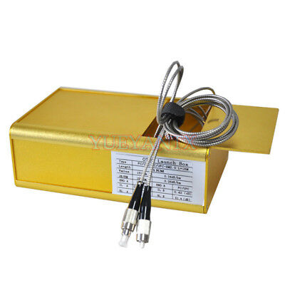 FC-FC/UPC SM 1KM Armoured Cable OTDR Test Extension Line OTDR Launch Cable Box