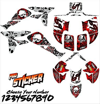 Honda TRX450R TRX 450 2006 /2014 full ATV graphic kit decals stickers 06/14