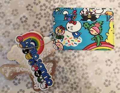 1dc6b9546 Ju-Ju-Be Rainbow Dreams Be Charged Slotted Card Case Jujube Sandy Hello  Kitty