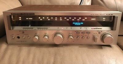 Vintage Sanyo Plus 55 AM/FM Stereo Receiver