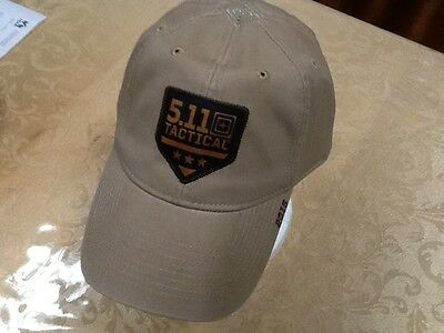 5.11 Tactical Cap Hat Ballcap Coyote, Khaki, Structured, 2016 Series New! Look!!