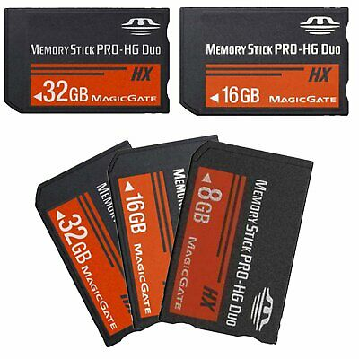 8GB 16GB 32GB Memory Stick MS Pro Duo Memory Card For Sony PSP 1000 2000 3000