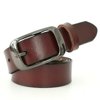 Fashion Belt for Womens100% Genuine Leather Belt for Jeans Dress Christmas gifts