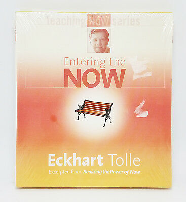 Entering the Now by Eckhart Tolle (2003, CD, Unabridged) Brand New